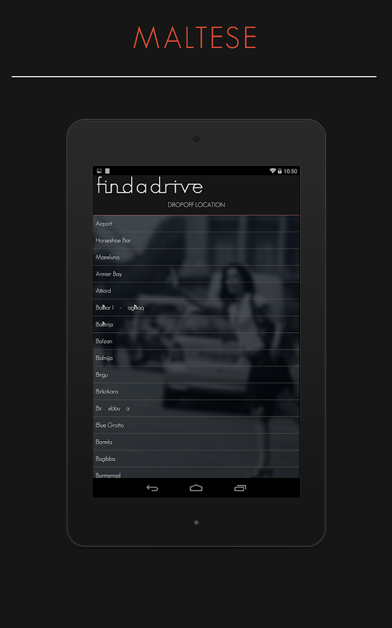 Findadrive Malta- screenshot