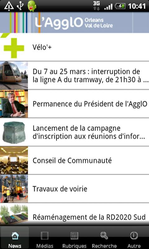 L'AgglO - screenshot