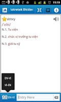 Screenshot of Astrotek Viet Dictionary