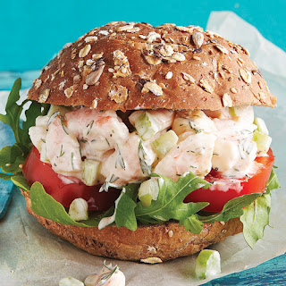 Shrimp Salad Sandwich.