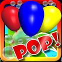 Balloon Bubble Pop 2! HD Kids icon