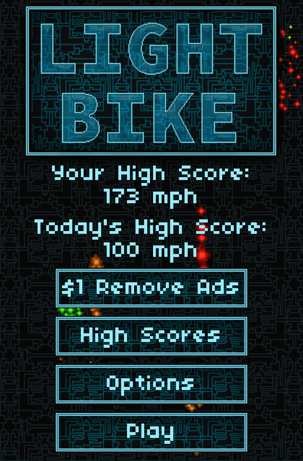 Light Bike- screenshot
