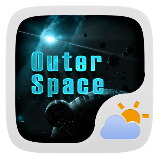 OUTERSPACE THEME GO WEATHER EX 天氣 App LOGO-硬是要APP