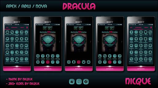 Dracula Nova Apex ADW Theme