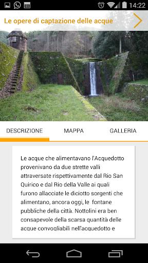 【免費旅遊App】Acquedotto Nottolini-APP點子