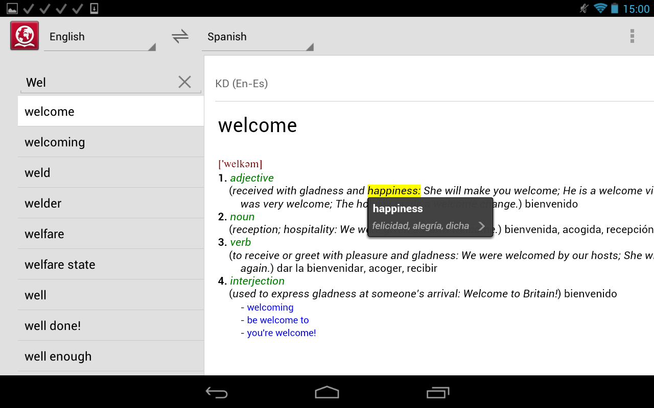ABBYY Lingvo Dictionaries - screenshot