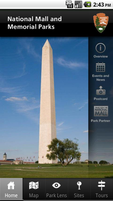 NPS National Mall- screenshot