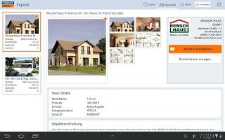 Screenshot of Hausbau: Immobilien Scout24 HD