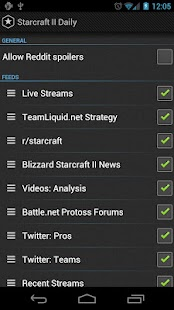Starcraft II Daily - screenshot thumbnail