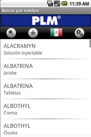 PLM Medicamentos - screenshot