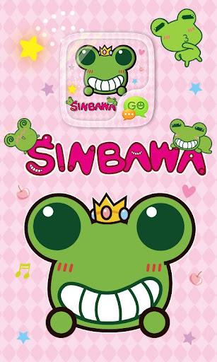 GO SMS PRO SINBAWA STICKER