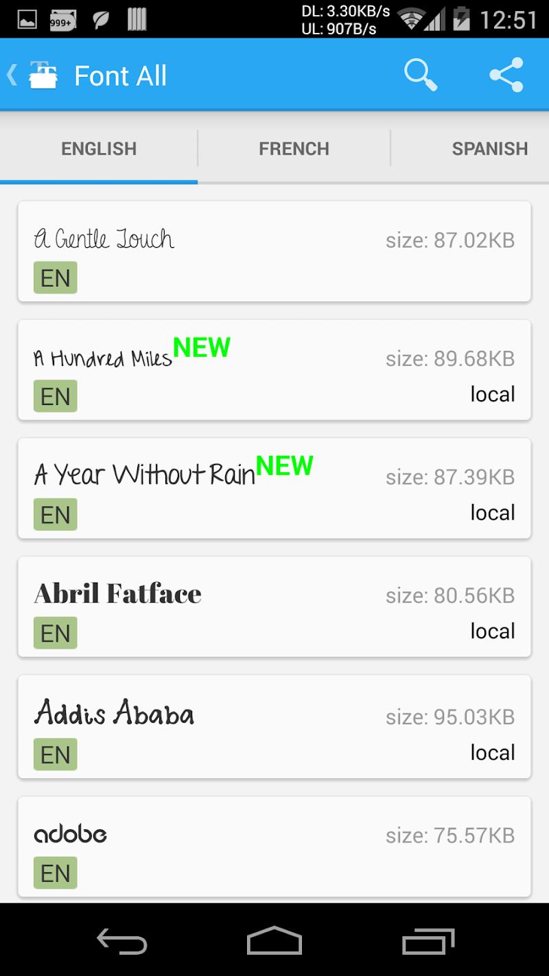 iFont(Expert of Fonts) Screenshot 4