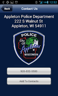 Appleton Police Department - screenshot thumbnail