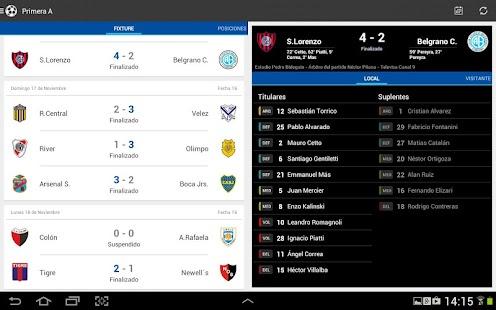 Liga Argentina de Fútbol Screenshot 14