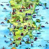 Phuket Map