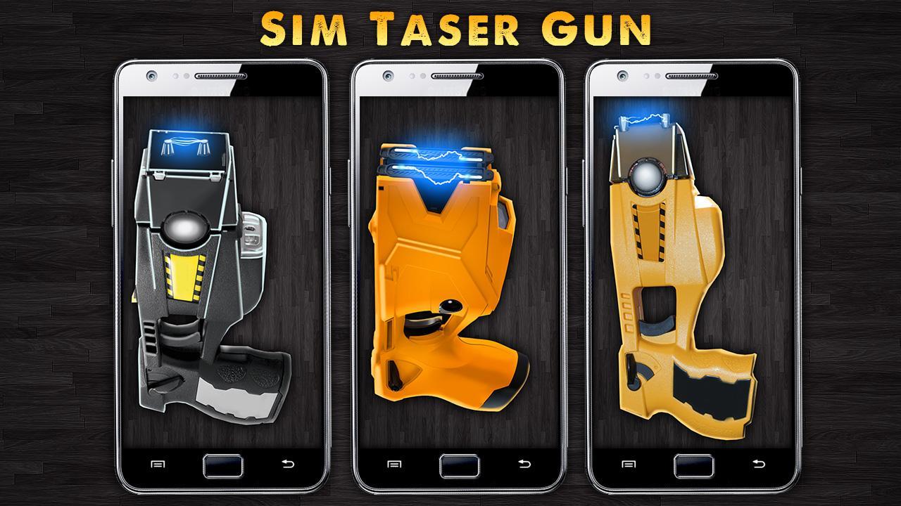 Simulator Taser Gun - screenshot