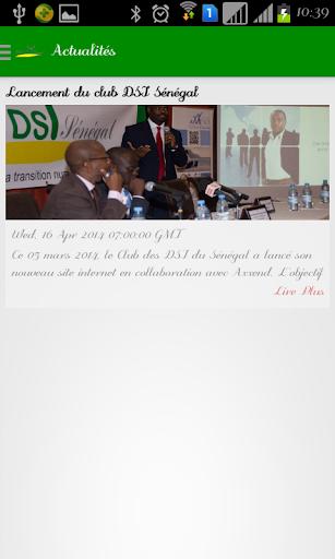 【免費新聞App】Club DSI Sénégal-APP點子
