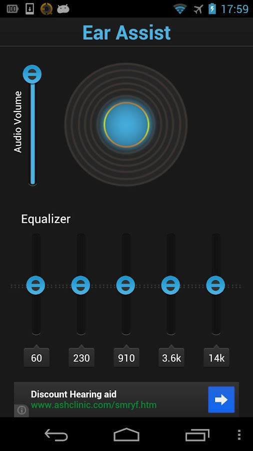 Ear Assist: Hearing Aid App- screenshot