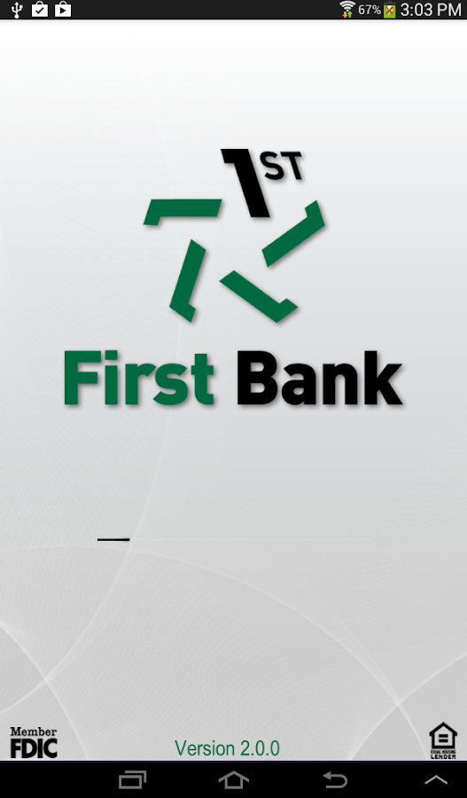 First Bank - screenshot
