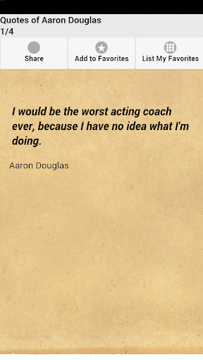 Quotes of Aaron Douglas