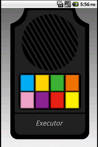 Executor- screenshot