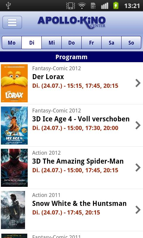 Apollo-Kino Center Ibbenbüren- screenshot