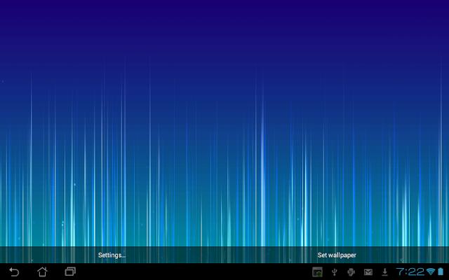 Fading Lines Live Wallpaper - screenshot
