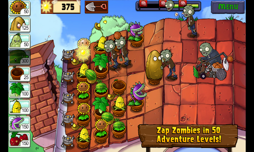 Plants vs. Zombies™ game for Android screenshot