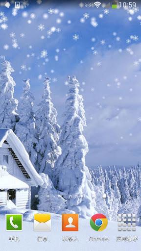 【免費個人化App】下雪動態壁紙-APP點子
