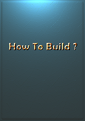 How To Build Something