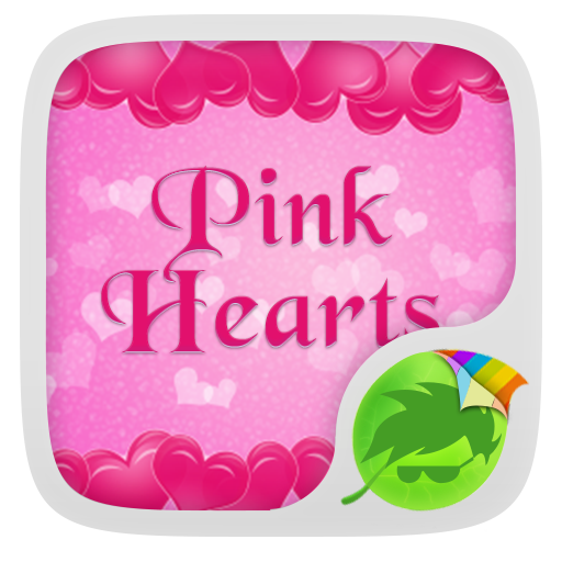 个人化のピンクのハートキーボード LOGO-記事Game