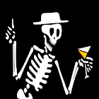Dancing Skeleton 3D icon