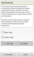 Screenshot of MTB cyklotrasy Terchová