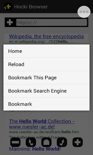 Hocki Browser