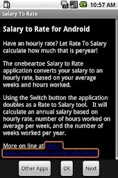 Salary To Rate - Minus