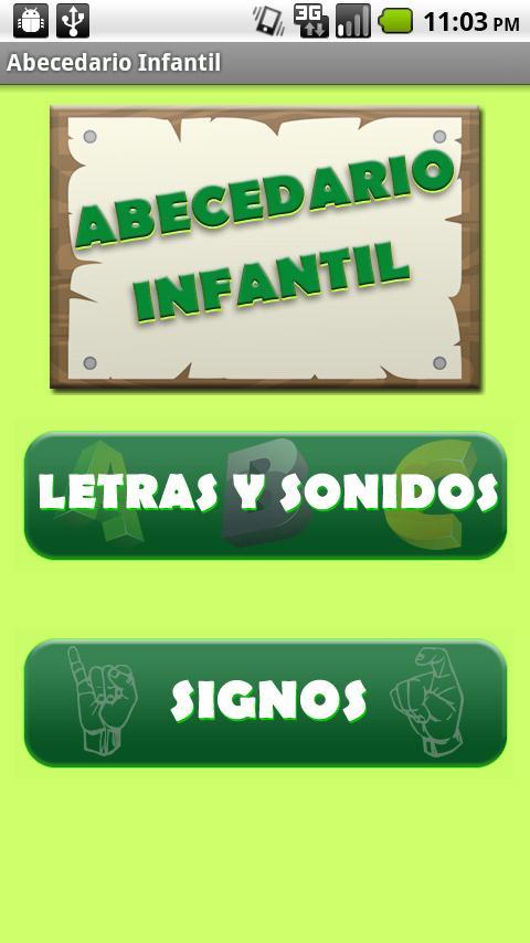 Spanish Alphabet for Children- screenshot