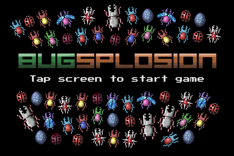 Bugsplosion- screenshot