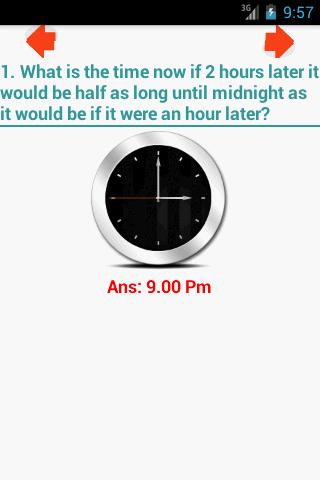 NR Clock Puzzle