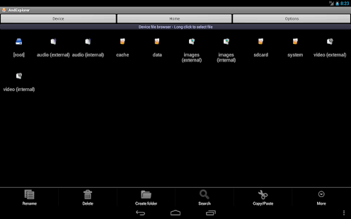 AndExplorerPro file manager