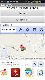 Buzoneo GPS - náhled
