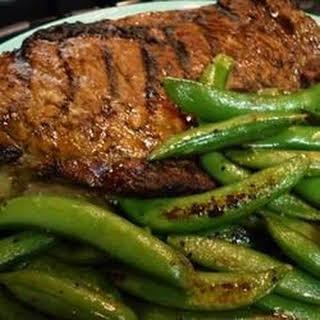 Whiskey-Marinated Steak.