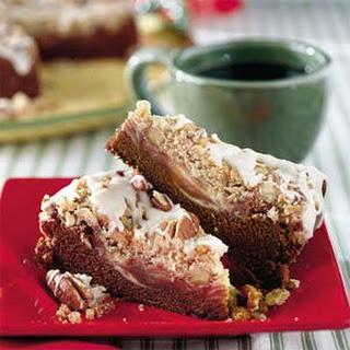 Chocolate-Cream Cheese Coffee Cake.