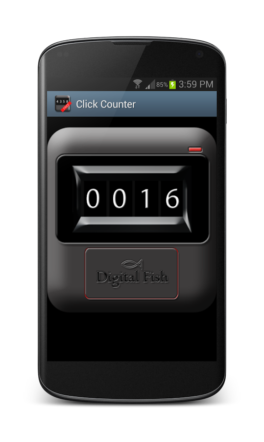 Click Counter Free - screenshot