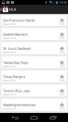 Baseball Calendars