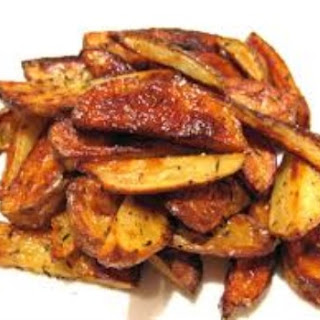 DASH Diet Potato Wedges