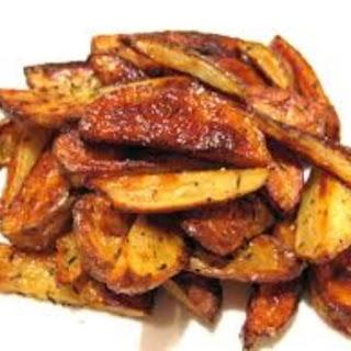 DASH Diet Potato Wedges.