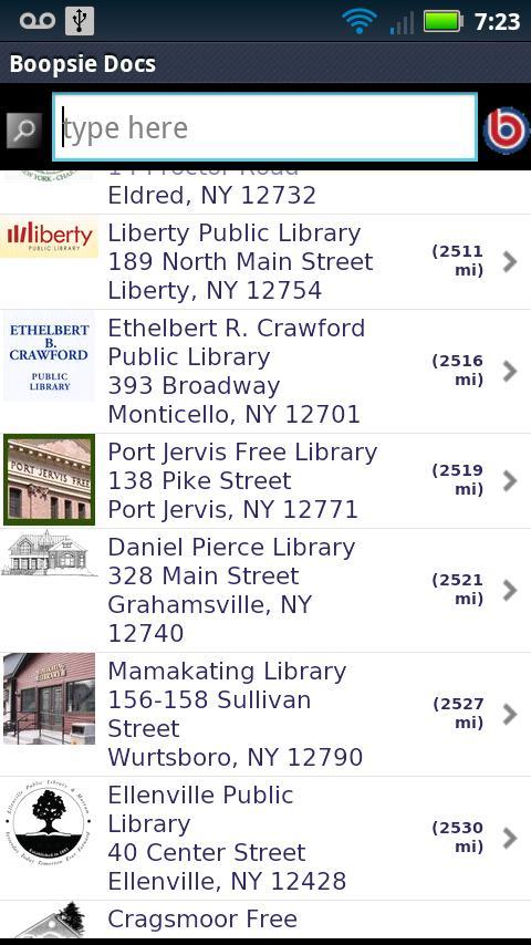Ramapo Catskill Library System- screenshot