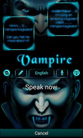 Vampire GO Keyboard Theme 3.87 screenshot 640268