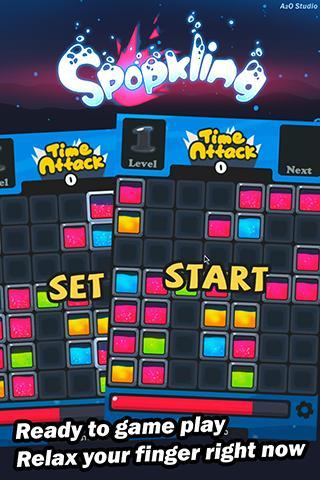 PUZZLE SPOPKLING FREE - screenshot