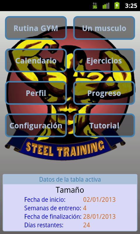 Steel Training - screenshot